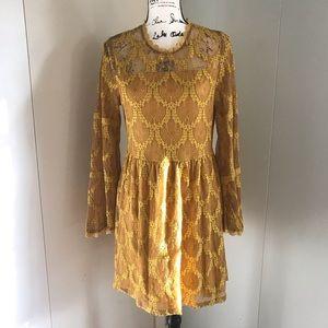 Xhilaration  lace dress size M